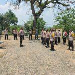 Polres Pandeglang Cek Kesiapan Personil Pengamanan Pilkades Zona 4