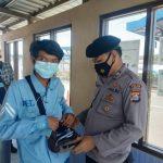Ditpamobvit Polda Banten Lakukan Pemeriksaan di Area PT Chandra Asri Petrochemical So Serang