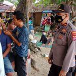 Kapolsek Carita Gelar Patroli Pendisiplinan Prokes Tempat Wisata