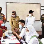 Bupati Indramayu Nina Terus Genjot Vaksinasi, Indramayu Sudah di Atas Rata-Rata Nasional